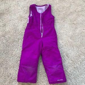 Purple Columbia Snow Pants Size 4t